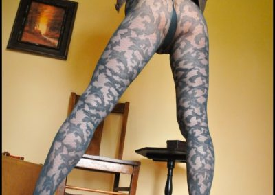 Teal Oroblu Luxury Tights