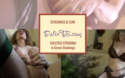 VIDEO: Green Solstice Stockings