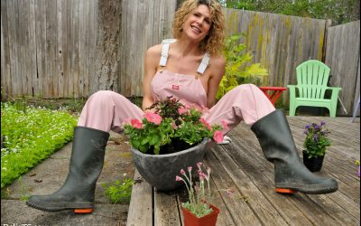 Pink Overalls GALLERY