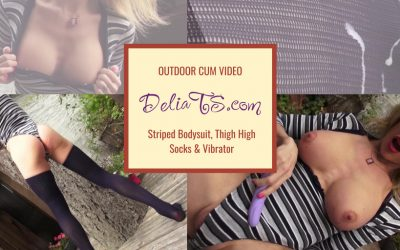 VIDEO: Striped Bodysuit, Long Socks & Vibe