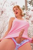 Big-Dick TGirl in Snowy Wonderland